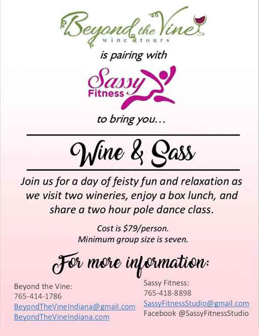 Wine and Sass Event